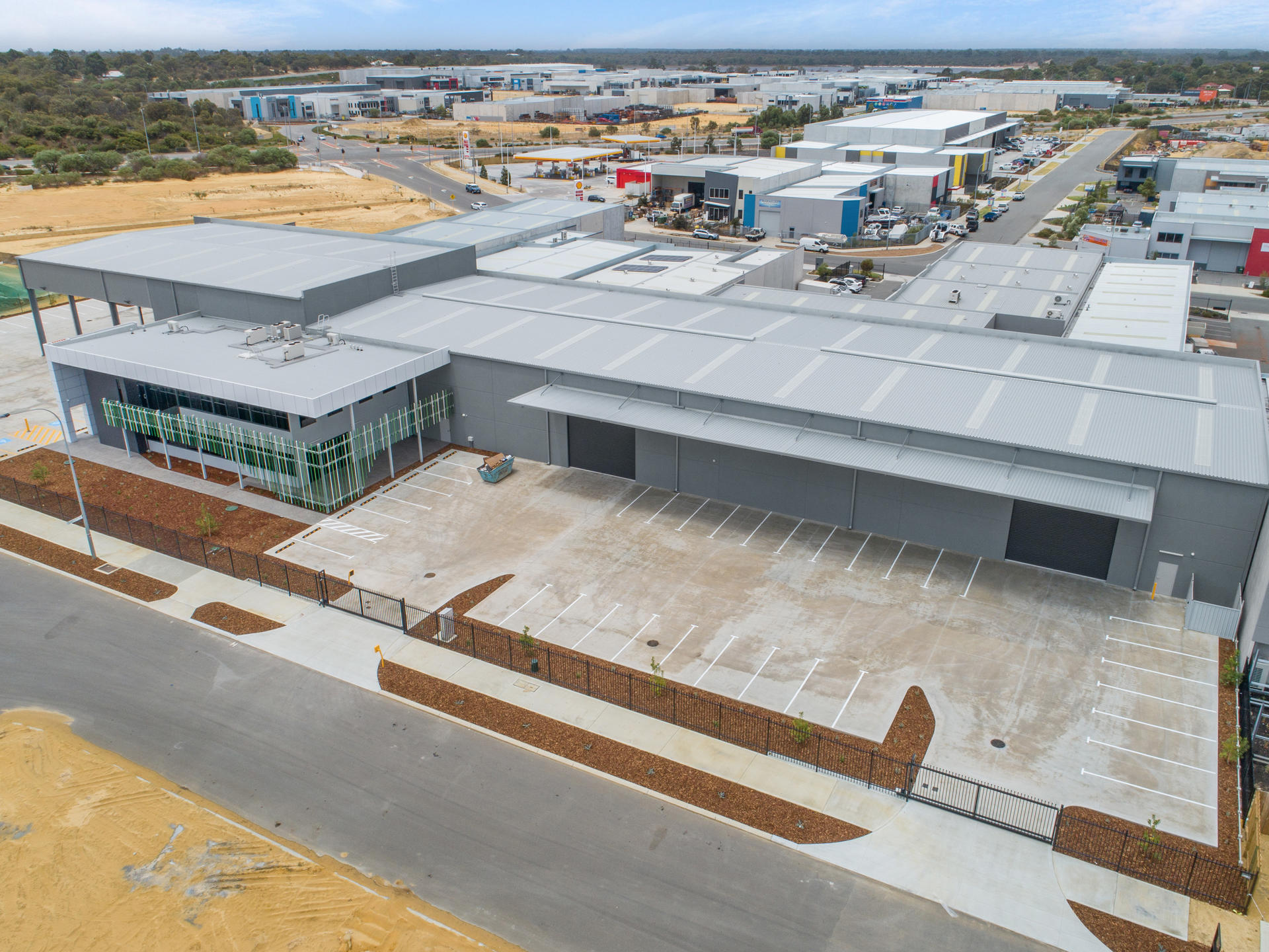 Built Ink - 26 Volcanic Loop Wangara - Built Ink Perth Commercial and Industrial Project