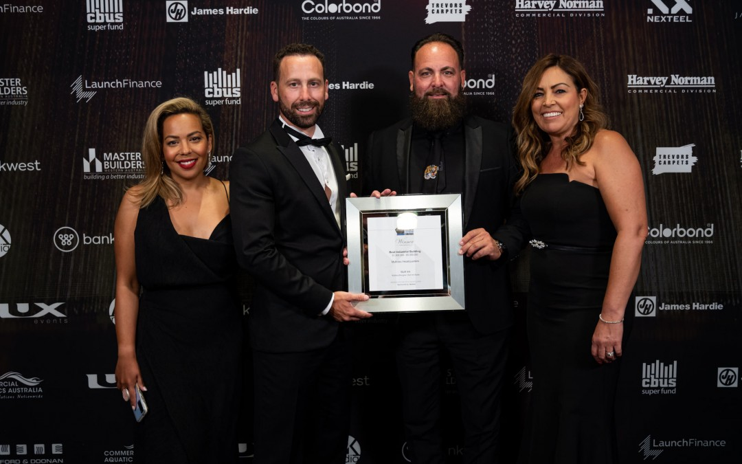 Built Ink wins 2020 Industrial Construction Excellence Award