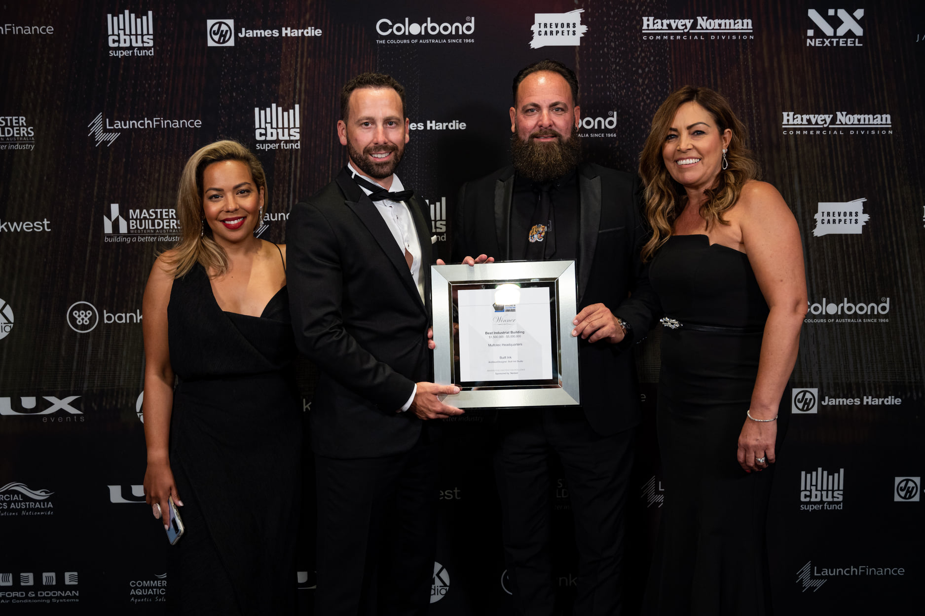 Built Ink winners of 2020 Master Builders  Construction Excellence Awards