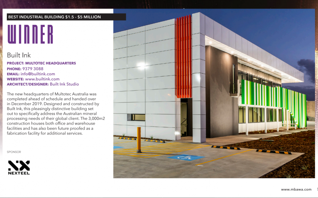 Master Builders Excellence in Construction Awards builtink