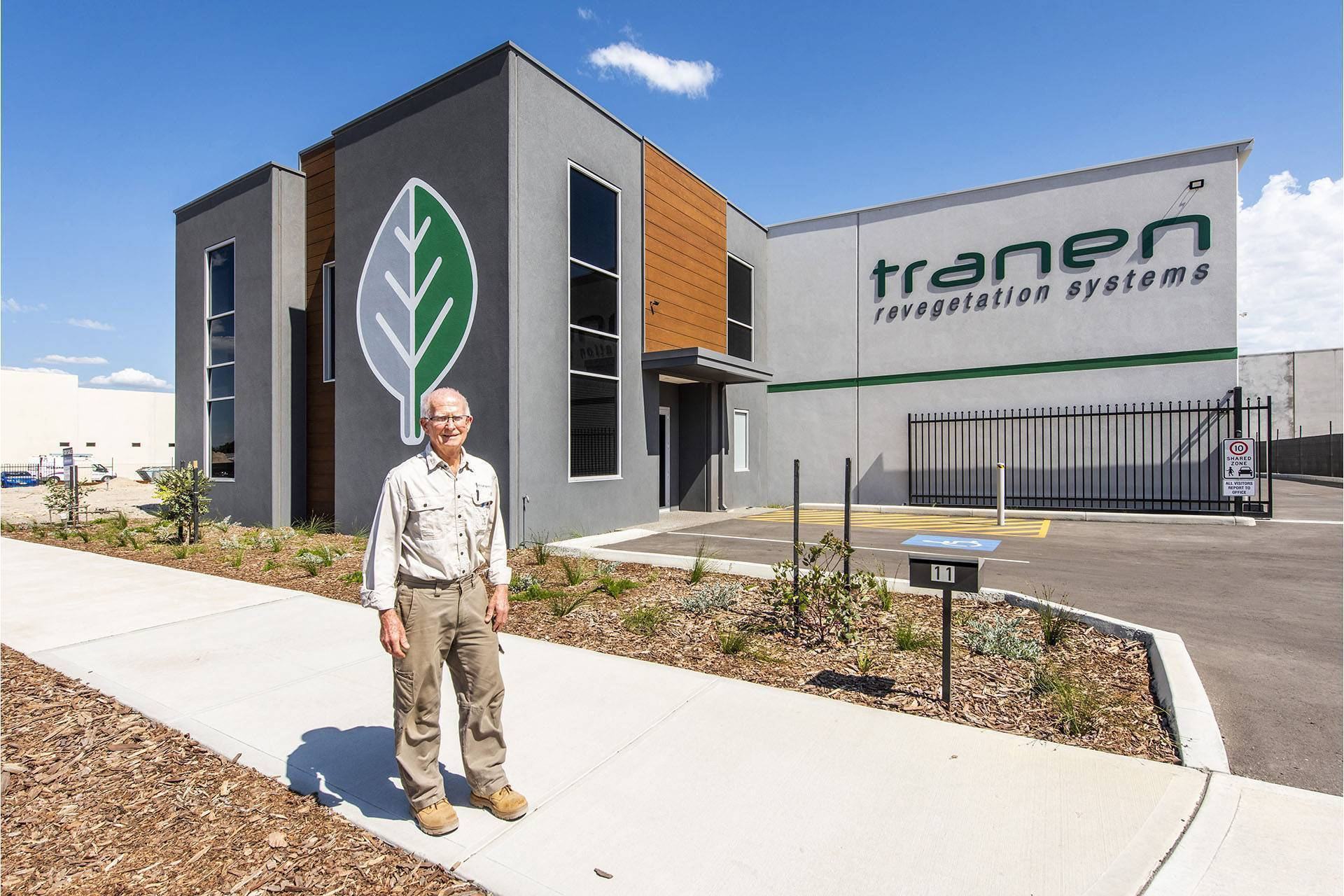 Tranen Revegetation Systems, Office and Warehouse Vincent Street Bayswater